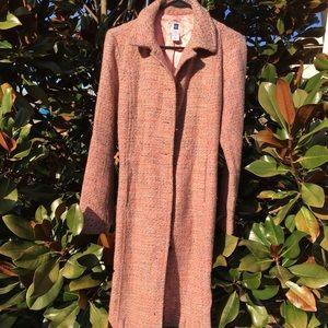 Gorgeous Gap Pink Tweed Coat